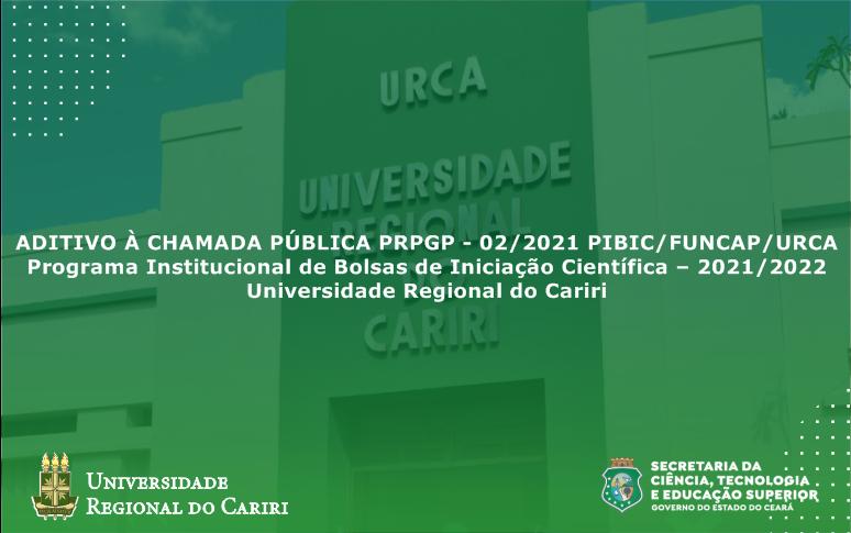 Prpgp divulga aditivo a chamada pública para bolsas não implementadas no PIBIC-Funcap